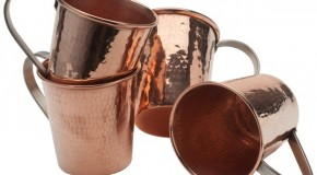 Sertodo Moscow Mule Mugs: Hammered Copper Handicraft