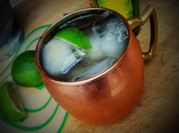 Moscow Mule Home Made