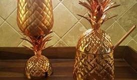 It is the time to update to a pineapple copper mug